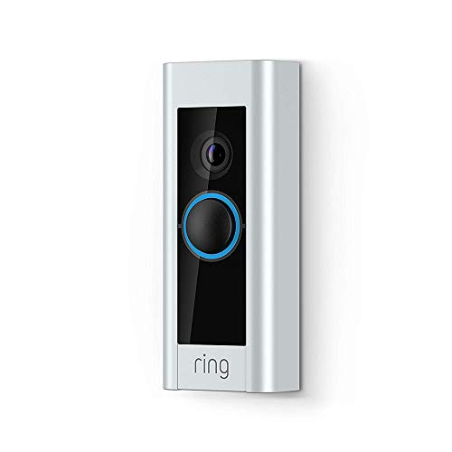 Ring Video Doorbell Pro | Kit with Chime and Transformer, 1080p HD, Two-Way Talk, Wi-Fi, Motion Detection