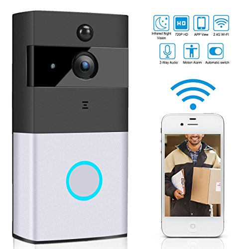 heacker WiFi Smart Video Doorphone Wireless PIR Night Vision Doorbell Android IOS Smart Home Intercom System