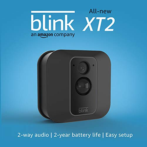 All-new Blink XT2 | Outdoor/Indoor Smart Security Camera with Cloud Storage, 2-Way Audio, 2-Year Battery Life | 1-Camera System